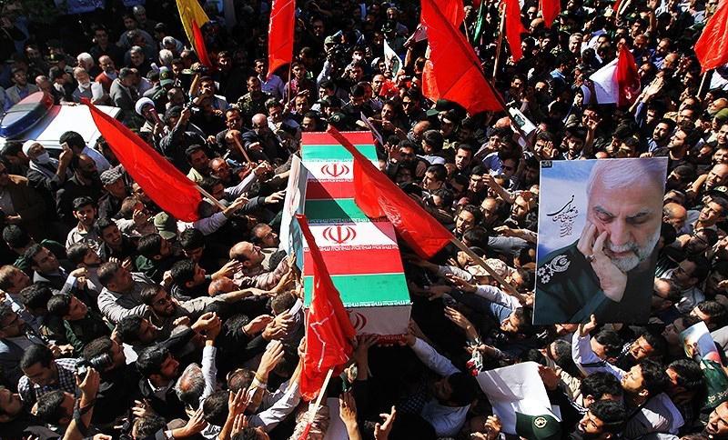 جزئیات مراسم تشییع پیکر سردار مدافع حرم شهیدحسین همدانی+ فیلم