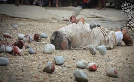 پیرمرد عراقی بدست داعش سنگسار شد+تصاویر