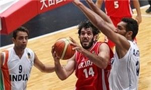 ویژه بسکتبال جام ملتهای آسیا 2015 : ایران هند را هم با اقتدار برد.