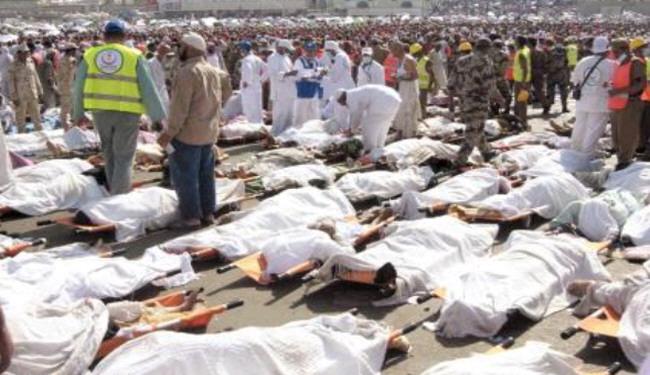 مجتهد: شمار کشته شدگان حادثه منا بيش از 500 نفر است