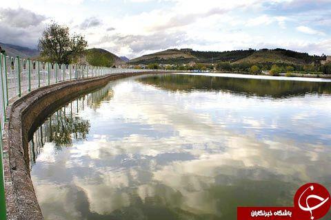 دریاچه زیبا کیو به روایت تصویر