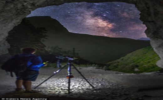 عکس های منحص به فرد از کهکشان راه شیری+ تصاویر