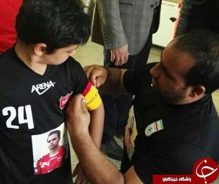 از شادی گل پسر هادی نوروزی تا پیراهن 24 +تصاویر