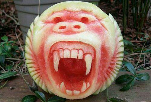 3679420 372 میوهآرایی با هندوانه