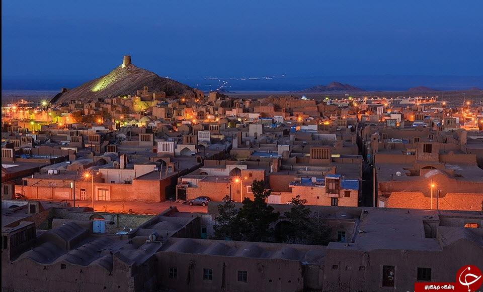 غروب فوق العاده زیبای شهرستان انارک-نائین + عکس