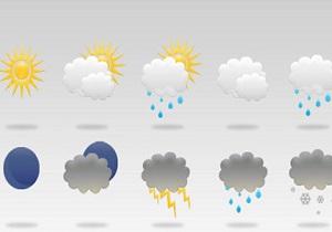 پیش بینی بارش های پراکنده در سواحل شمالی کشور/ پیش بینی وزش باد شدید در تهران
