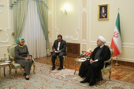 ظرفیت ها و توانمندیهای تهران - جاکارتا باید برای توسعه مناسبات اقتصادی فعال شوند