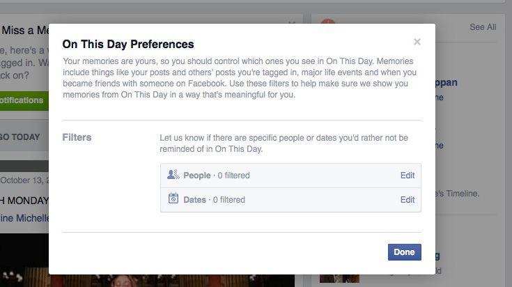 فیسبوک خاطرات بدتان را خاک می کند !