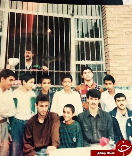 وقتی گل محمدی معلم زبان بود + عکس