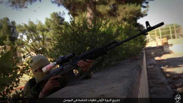 نیروهای ویژه داعش+ تصاویر