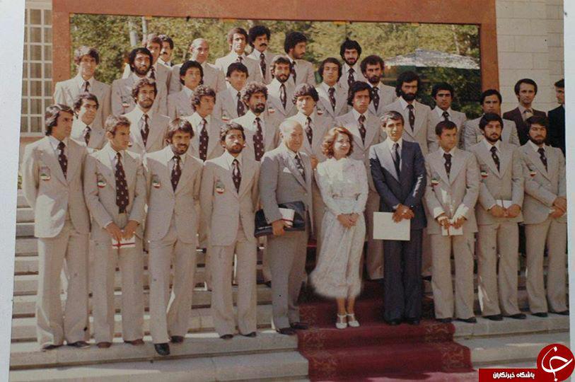 بازيكنان ﻓﻮﺗﺒﺎﻝ ﺍﯾﺮﺍﻥ ﺩﺭ ﺟﺎﻡ ﺟﻬﺎﻧﯽ 1978 + عكس