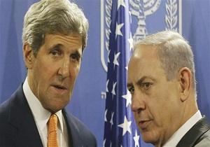 گفتگوی کری و نتانیاهو درخصوص راه های پایان خشونت