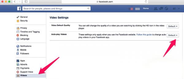 پخش خودکار ویدیو ها در فیسبوک را متوقف کنید + آموزش