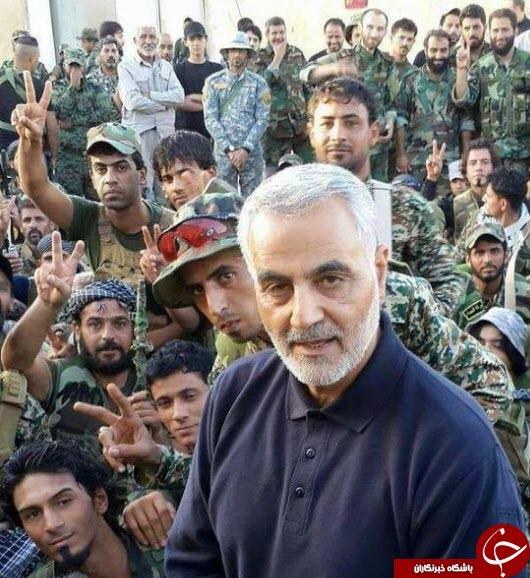 سلفی مجاهدان سوری با سردار سلیمانی+ عکس