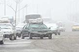 بارش برف و باران و ترافیک نیمه سنگین در جادهها کشور