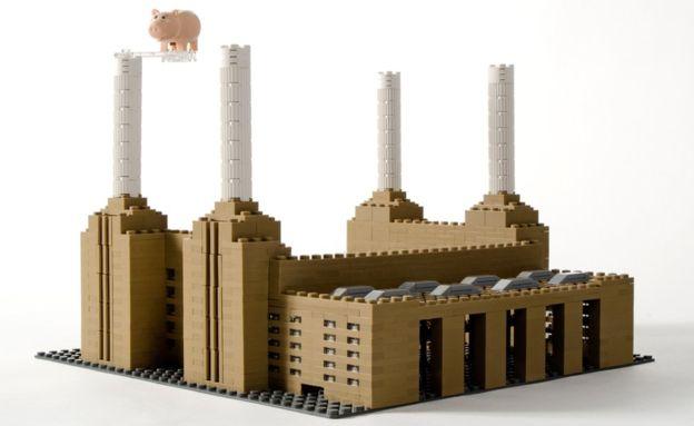 نمایشگاه لگوی ساختمان های مشهور جهان در انگلیس + تصاویر