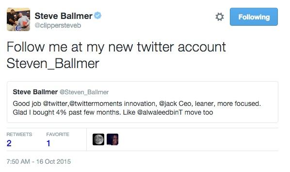 خرید سهام توئیتر توسط یکی از مدیران سابق مایکروسافت