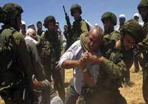حمله صهیونیستها به کشاورزان فلسطینی در رامالله