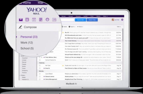 جدیدترین نسخه اپلیکیشن ایمیل یاهو