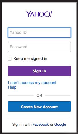 بدون نیاز به رمز عبور از ایمیل یاهو استفاده کنید