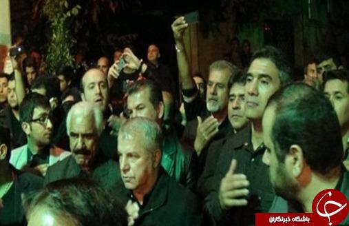 حضور بازیگران در مراسم عزاداری سالار شهیدان + عکس