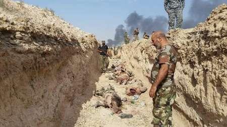 کمین الحشد الشعبی برای ۱۰۰ داعشی (+عکس)