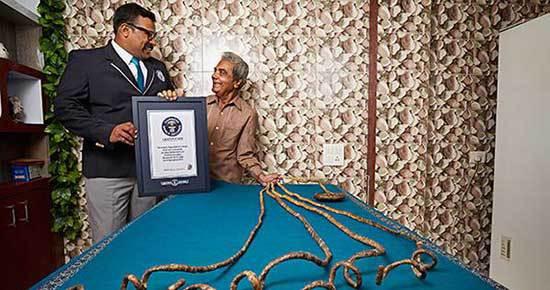 رکورد بلندترین ناخن جهان+عکس!