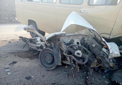 کشته و زخمی در جاده مرگ + عکس