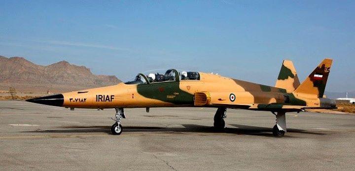 پشتیبانی نیروی هوایی ارتش از نزاجا با جنگندههای F5 و صاعقه/انهدام پهپاد دشمن فرضی + عکس