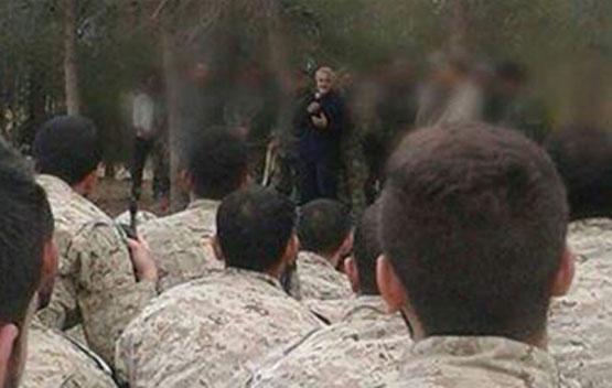 سردار سلیمانی به افسران ایرانی و حزبالله در سوریه آموزش میدهد+ تصاویر