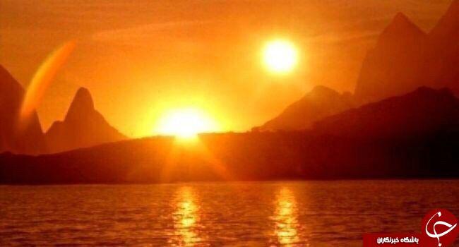 دو خورشید همزمان باهم
