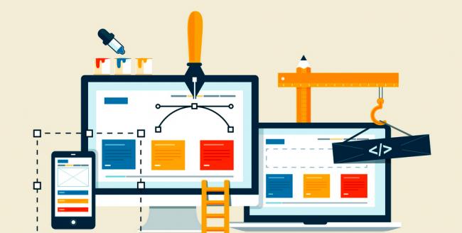 در چند ثانیه وب سایت طراحی کنید + آموزش