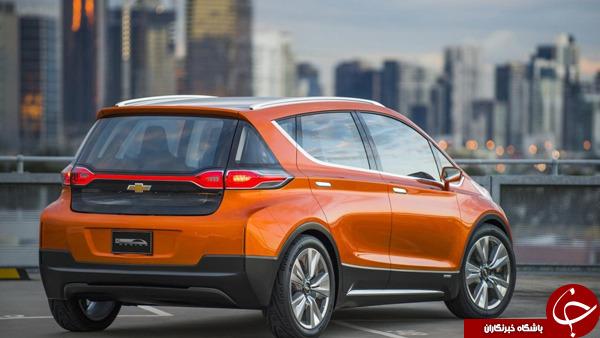 همکاری شورولت با ال جی برای تولید خودروی الکتریکی