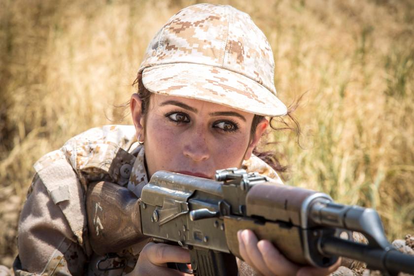 چرا عناصر داعش از کشته شدن به دست زنان وحشت دارند؟ + تصاویر