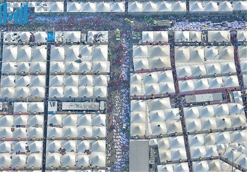 روایت تصاویر هوایی از فاجعه منا