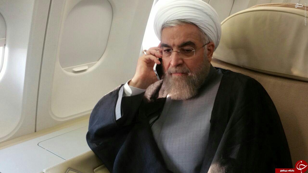 روحانی لحظه شنیدن خبر فاجعه منا + عکس