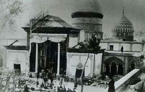 حرم حضرت عبدالعظیم در دوره قاجار + عکس