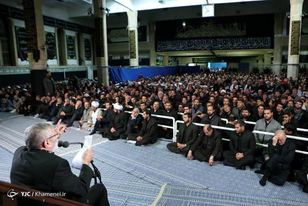 شعر حماسی حاج منصور ارضی در محضر رهبر انقلاب/ از برجام تا نفی مذاکره با کدخدا