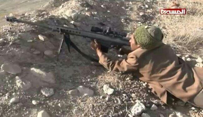 تک تیراندازان یمن به شکار نظامیان سعودی میروند+ عکس
