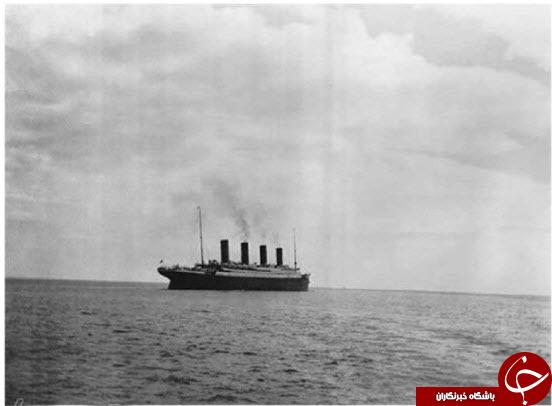 آخرین عکس دیدهشده از تایتانیک روی آب