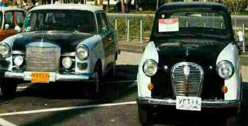 اولین تاکسی در ایران + عکس