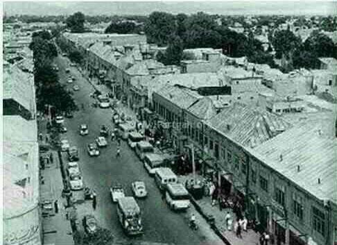 اولین خیابان آسفالت تهران + عکس