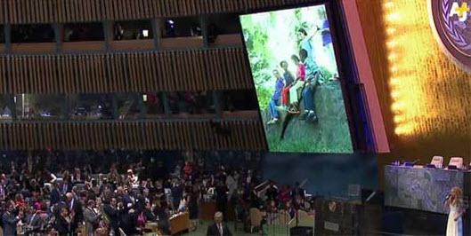 واکنش هیئت ایرانی به آواز خوانی شکیرا در مقر سازمان ملل