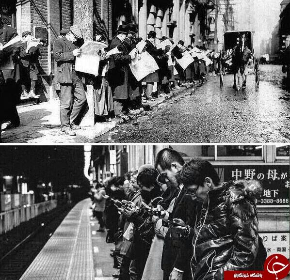 تصاویری جالب از حادثه زمان!