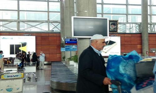 حجاج ایرانی به کشور بازگشتند