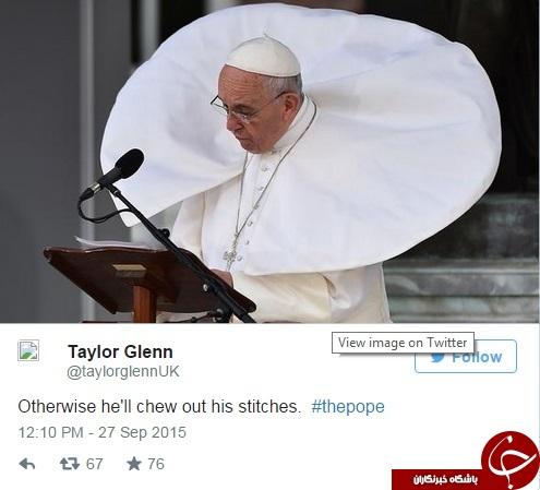 پرطرفدارترین عکس های پاپ فرانسیس در فضای مجازی + تصاویر