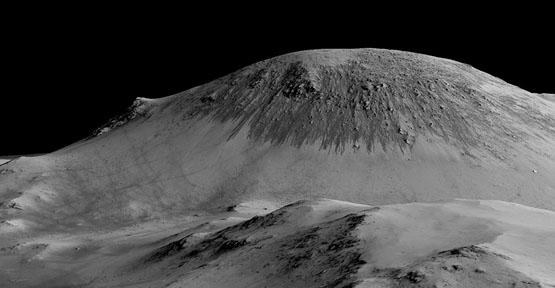 تصاویر منحصر به فرد از جاری بودن آب بر سطح مریخ