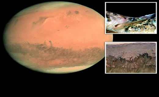 کشف جدید ناسا درمریخ+ تصاویر