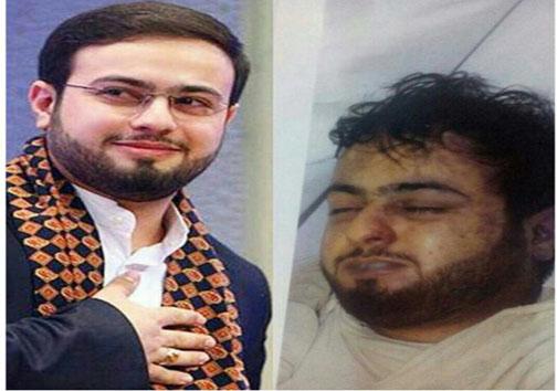 صورت پاک و کبود قاری برتر ایرانی در فاجعه منا+ عکس