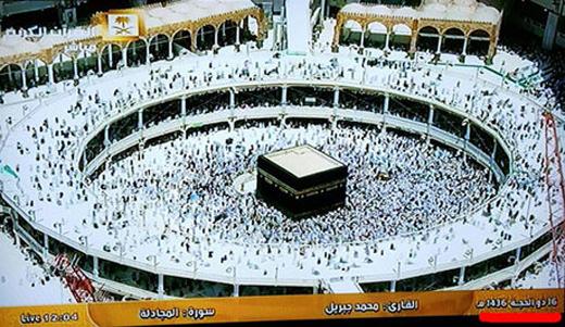 گاف تلویزیون سعودی + عکس